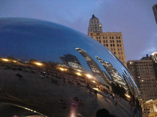 By the Bean (I'm in there somewhere)