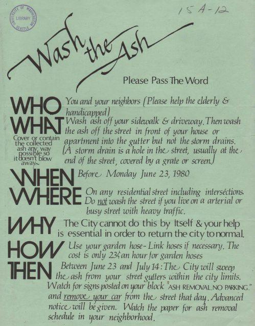 Wash the Ash
